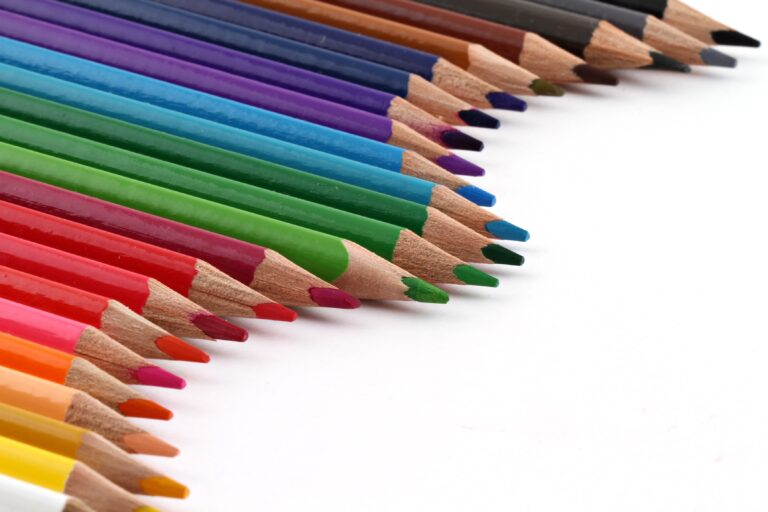Why is your voice like a box of pencil crayons?
